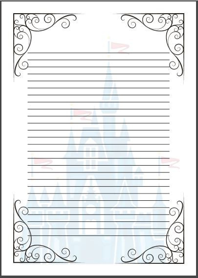 fairy tale writing paper Ten free fairy tale themed stationery to liven up your creative writing assignments great for use when writing fractured fairy tales or just to add a splash of color and cuteness to your stash of writing center stationery.