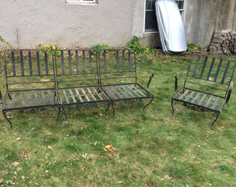 Vintage outdoor Furniture metal