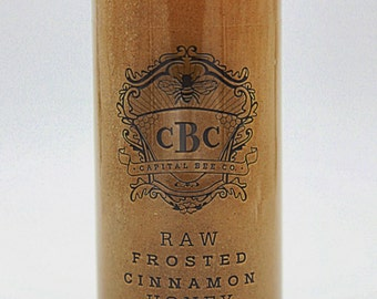 Raw Frosted Cinnamon Honey 12oz