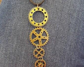 Gear Necklace - Simple
