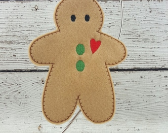 Gingerbread Ornament/Gift Tag
