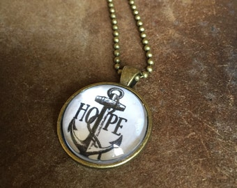 HOPE ANCHOR | Pendant Necklace