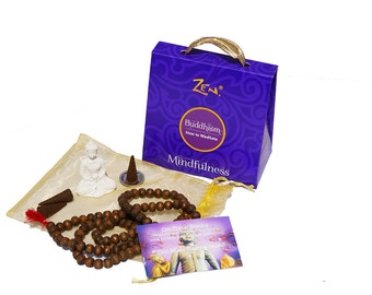 Buddhism Kit. Learn How to Meditate. Mindful Meditation. Seeking peace. Engage your inner peace. Relieve stress. Spiritual development