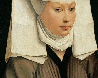 Medieval Horned Veil SCA