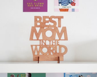 Mother's Day Card - Best Mom in the World