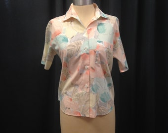Peaches Hawaiian Womens Cruise Top