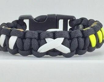 POW MIA Paracord Bracelet