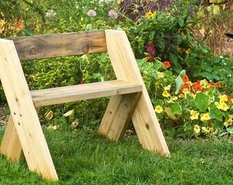 Скамейка для дачи и сада своими руками: чертежи, размеры,…