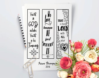 Bible bookmark, Bible journaling, bible coloring, bible journaling printable, journaling bible, prayer journal, bible journaling stencils