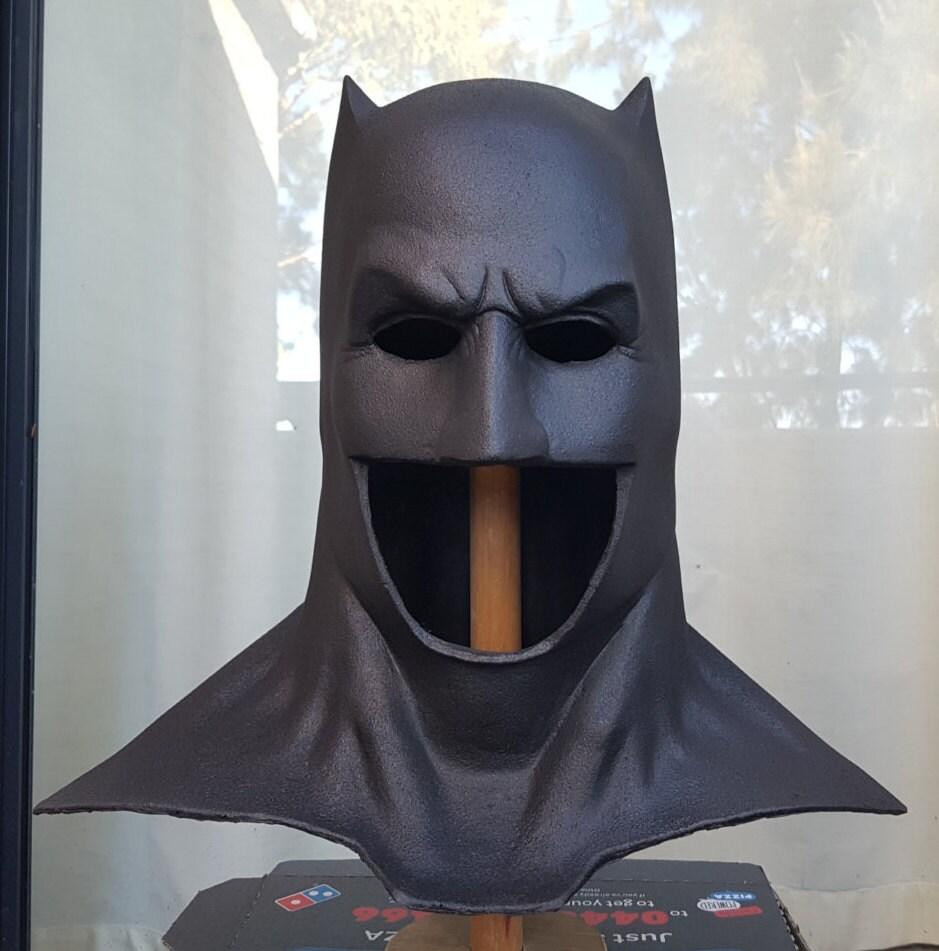 Batman cowl Dawn of justice Batfleck mask
