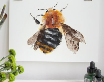 Common Bumble Bee Print