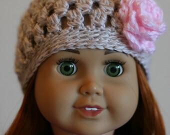 Crocheted Doll Hats