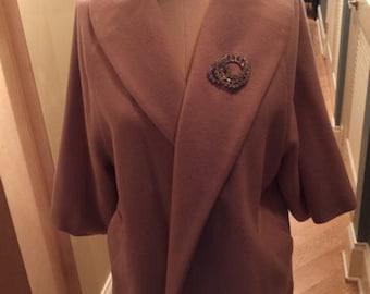gorgeous vintage yigal azrouel cashmere jacket