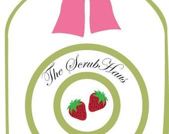 Strawberry Vanilla Scrub