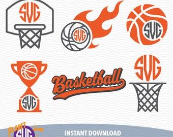 BASKETBALL SVG files, Silhouette Studio Files, CriCut Files, Screen printing 16-P