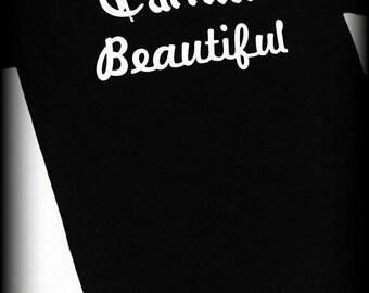 Tattoo Shirt, Tattooed Beautiful Shirt, Womens tattoo t-shirt, Tattoo clothing, Inked shirt, Tattooed, S, M, L, XL