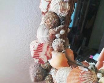 Homemade Seashell Mirror
