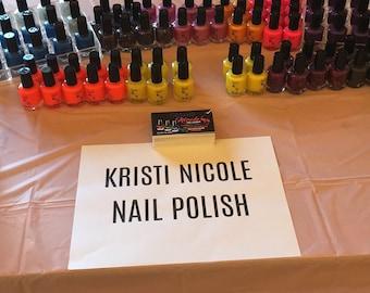 Kristi Nicole Nail Polish Line