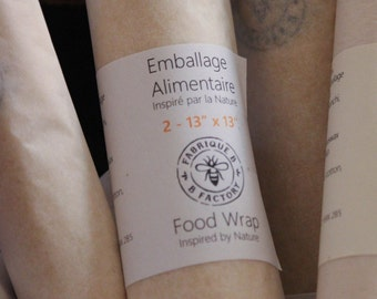 Beeswax Food Wrap - Large Pack
