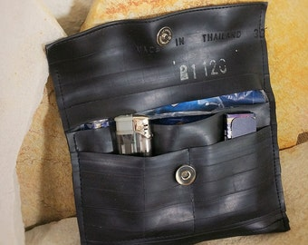Tobacco pouch / tobacco bag made of bicycle tube