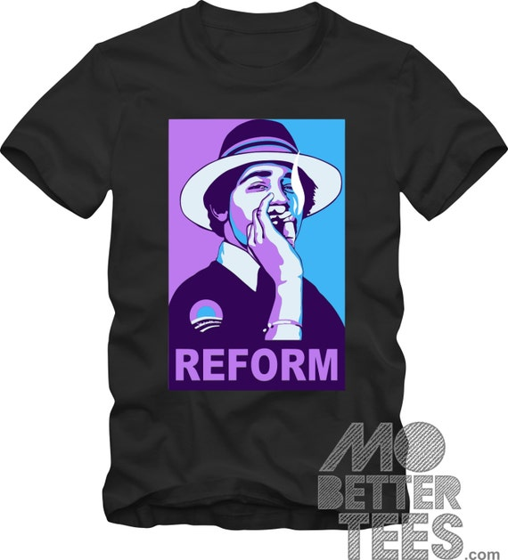 Barack Obama T-Shirt Reform Weed Changed My Life