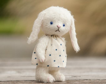 Cute teddy bunny pattern, teddy bear bunny, bunny sewing pattern, artist bunny rabbit pattern, teddy bear bunny pattern, mohair, bunny teddy