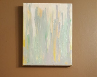 Rain – 8x10 Abstract Canvas