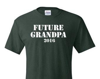 Grandpa Tshirt, Future Grandpa, Future Grandpa Tshirt, Future Grandpa T-Shirt, Grandpa T-Shirt, Grandpa Gift, Grandpa Est., New Grandpa