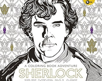 Sherlock: The Mind Palace - Coloring Book Adventure