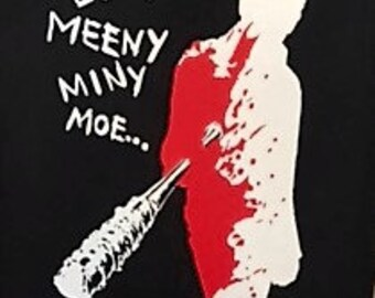 The Walking Dead Eeny Meeny Miny Moe Tshirt