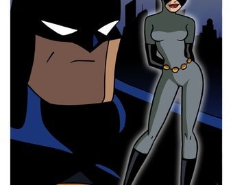 Catwoman - Batman: The Animated Series Limited Edition Art Print