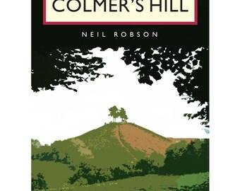 Colmer's Hill Illustration - 40 x 30cm Art Print
