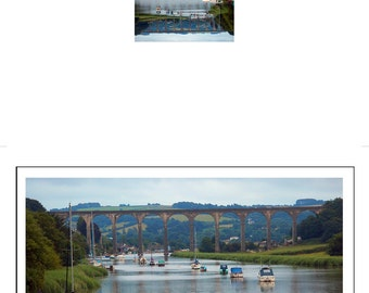 Set of Devon River & Lake Scenes Greeting Cards