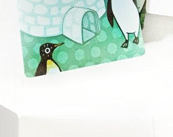 Christmas Cards Boxed Set - Newlywed Christmas Card - Let it Snow Christmas Card Set - Christmas Card Box - Family Christmas Cards -