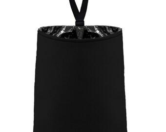 Car Trash Bag // Auto Trash Bag // Car Accessories // Car Litter Bag // Car Garbage Bag - Black