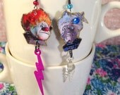 Heat Miser and Snow Miser Earrings  The Year Without a Santa Claus