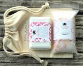 Valentines Day Gift . Girlfriend Gift Best Friend Gift . Spa Gift Set . Bath Gift . Gift for Her . Gift for Women . Valentine Gift