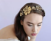 Bridal headband - Dogwood flower single headband - Style 645 - Made to Order