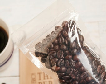 Zip Lock Coffee Bag - Coffee bag inserts for Ground Coffee Favors - Keeps Coffee Fresh - 20 clear zip bags in each pack