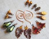 Sihaya Designs Earring Wardrobe -- Autumn Embers -- Autumn Fall Mix and Match Earring Set