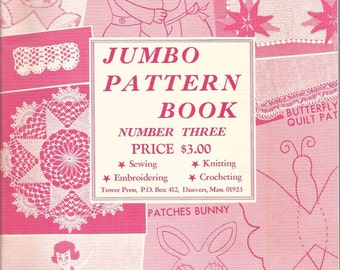 Vintage 1967 Jumbo Book of Patterns Book Three Woman's Circle Woman's Household