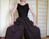 Hakama - Pants Style - Vintage Japanese Hakama Brown or Gray