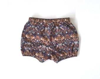 Liberty print bloomers / shorts / diaper cover
