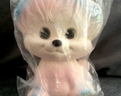 Sealed Vintage Baby Joy Originals squeaky toy pink blue squeeze SEALED rare dog puppy