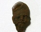 Mummified, Mummy, Voodoo, Amulet, Shrunken Head, ZombieHead Pendant