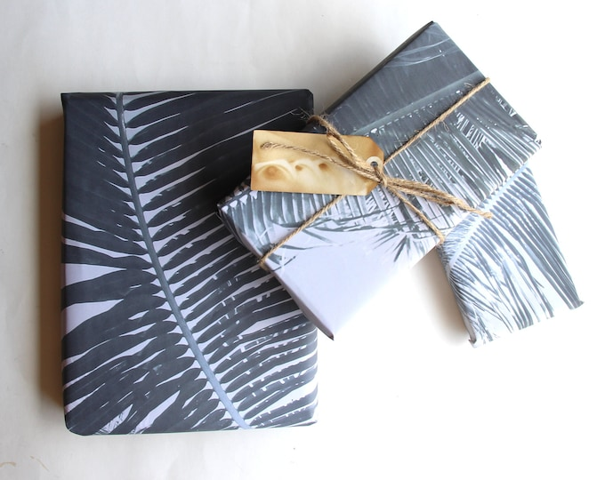 Palm Leaf Gift Wrap Sheets