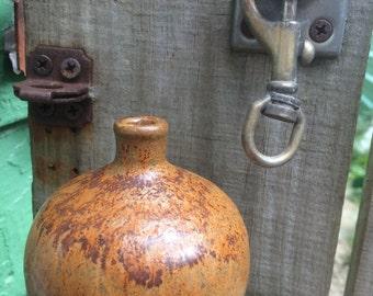 Rusty Bud Vase