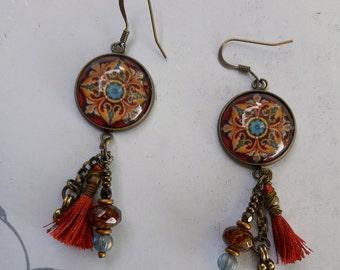 Bronze Persia earrings