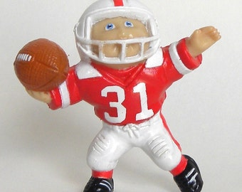 Cabbage Patch Kid CPK Mini Figurine Doll Football Boy