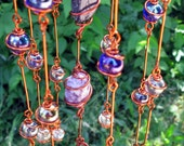 Rainbow Chakra Suncatcher with Copper Wire Wrapped Glass Marble Prisms, Metaphysical, Home Decor, Garden Decor #4
